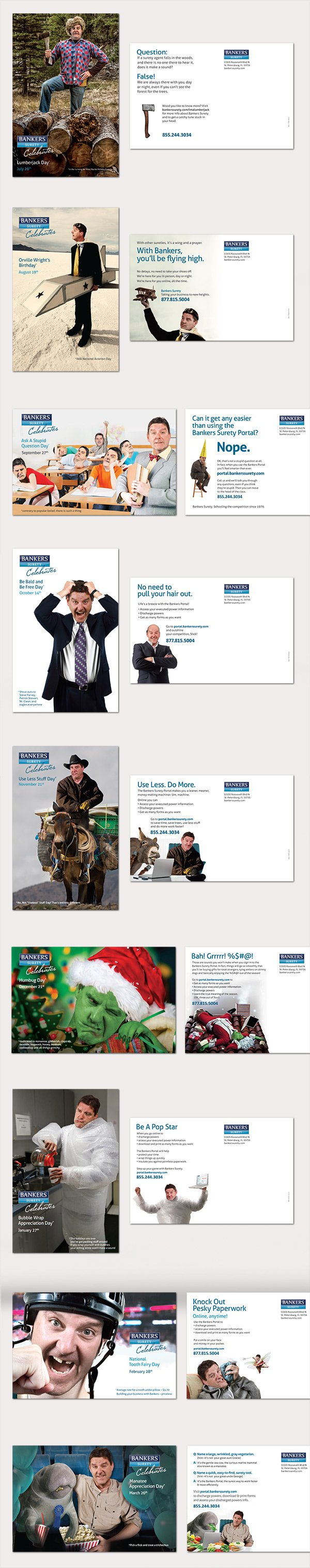 Bankers Surety Postcards